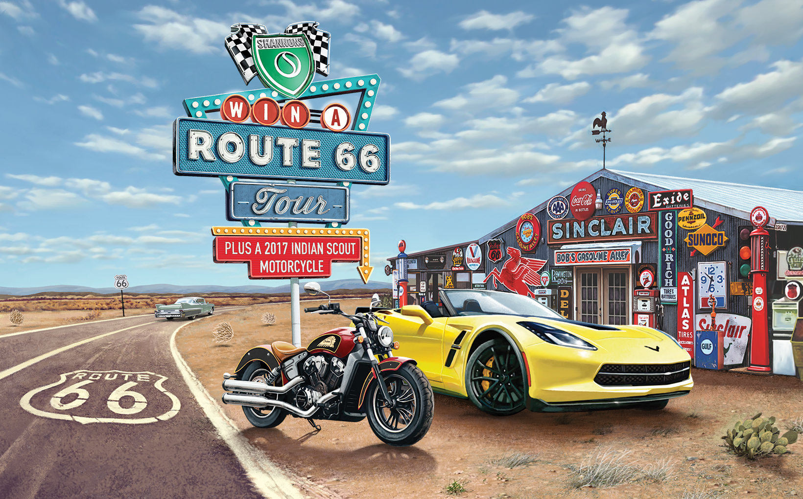 Win a Tour Driving the World's Most Iconic Highway - Route 66