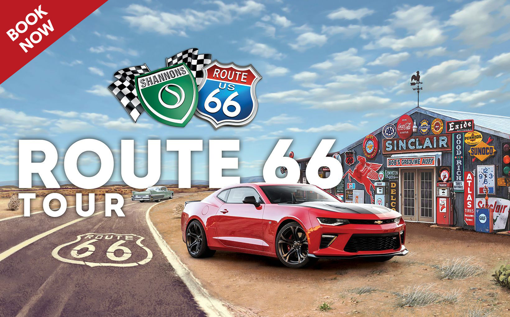 Shannons Club Route 66 Tour - BOOK NOW