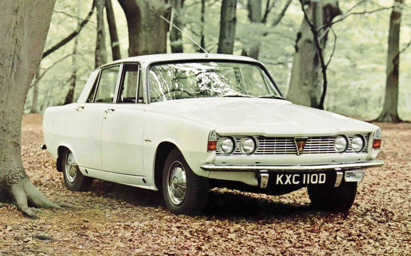 Rover P6: Last of the great British bulldogs?