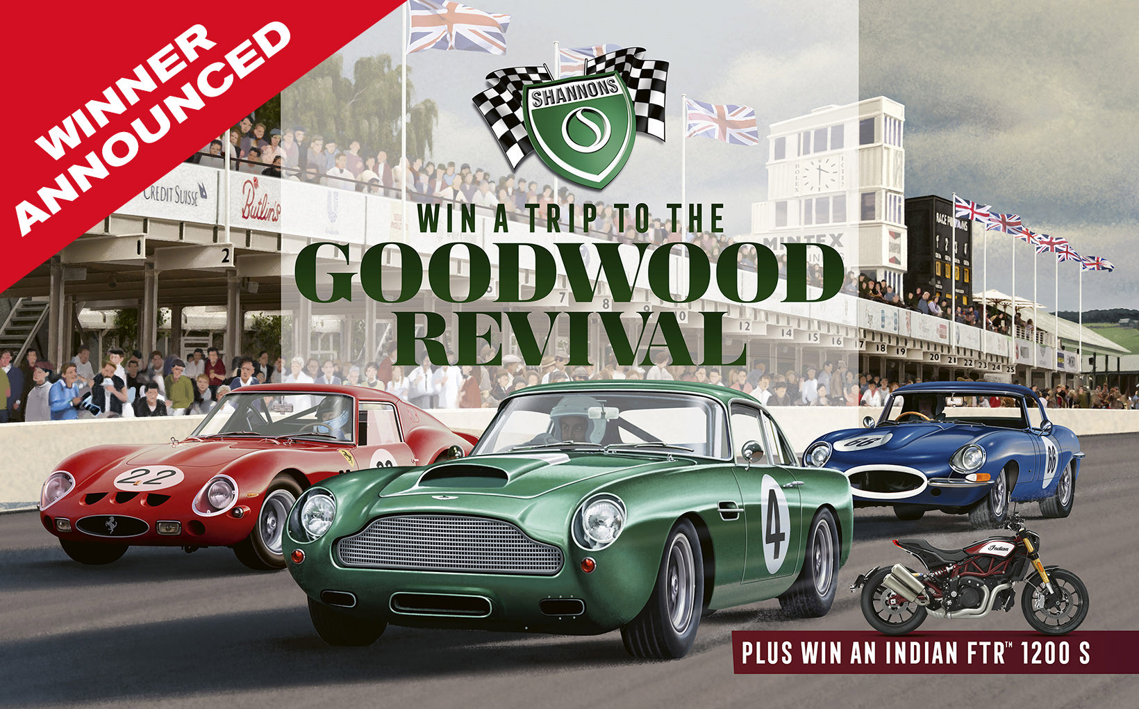 Shannons Goodwood Revival winner gets ready for trip to UK