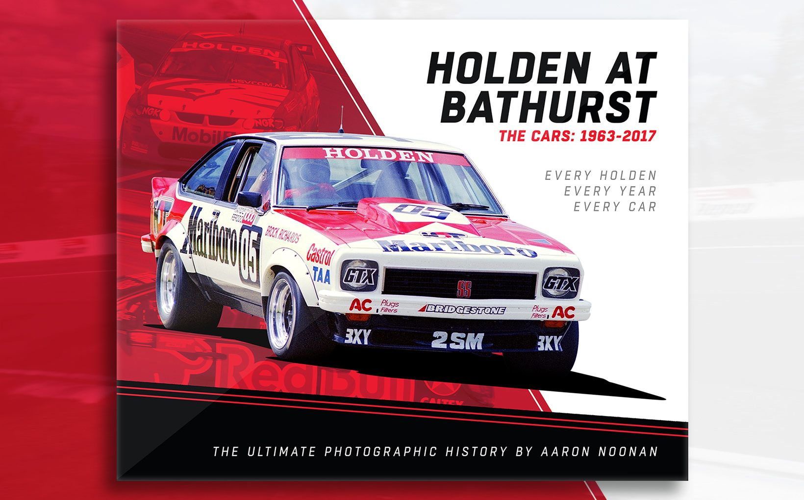 Holden at Bathurst. The Cars: 1963-2017. Every Holden, Every Year, Every Car!