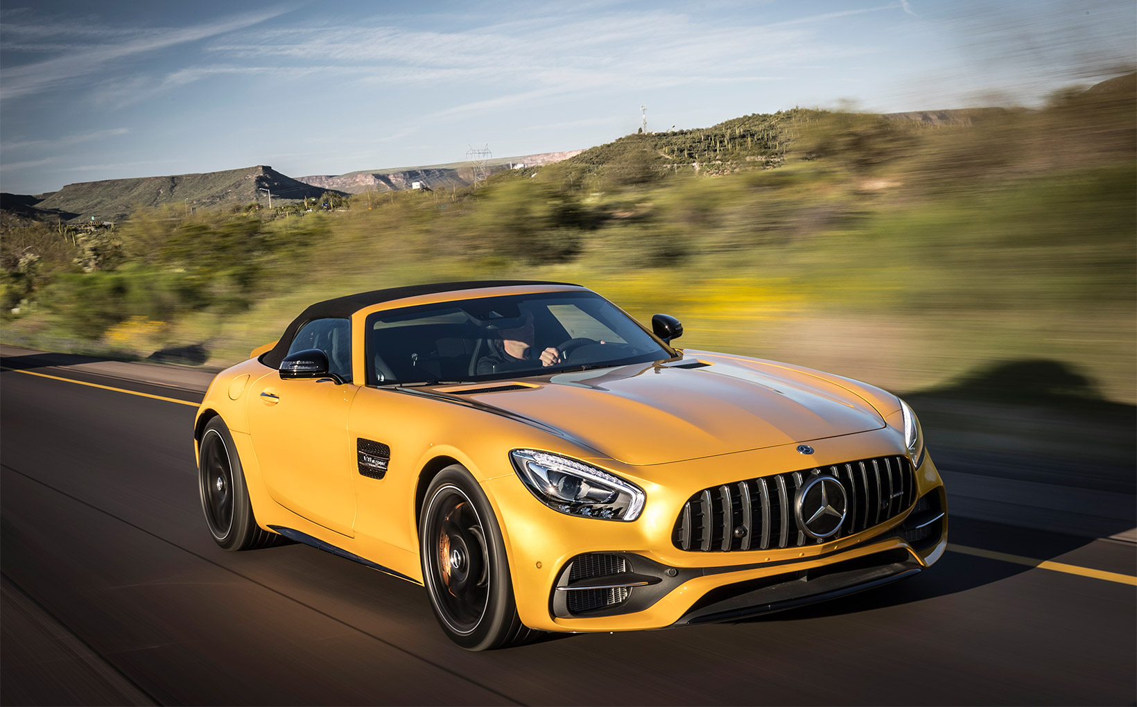 Does it get any better than a Mercedes-AMG GT Convertible?