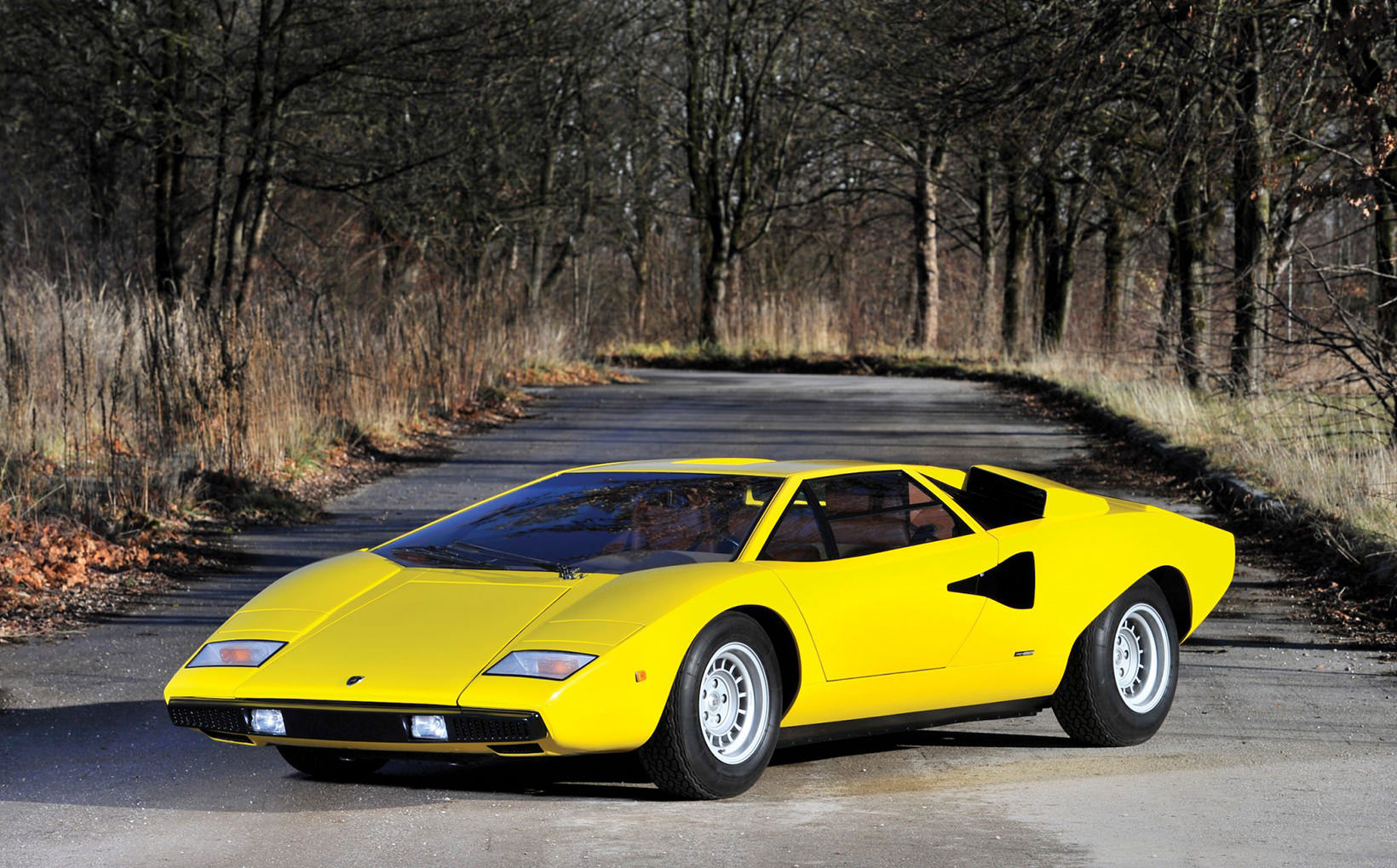 Lamborghini Countach: The all-time 'wow, look at that!' car