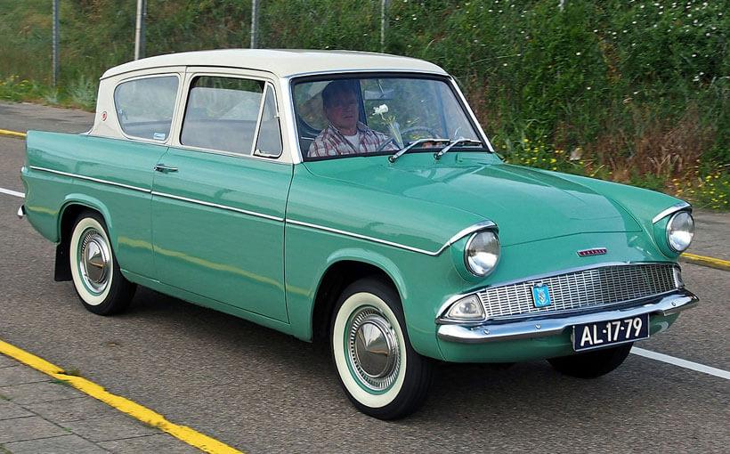 Ford Anglia 105E: Ford of England's angle on a rakish small car