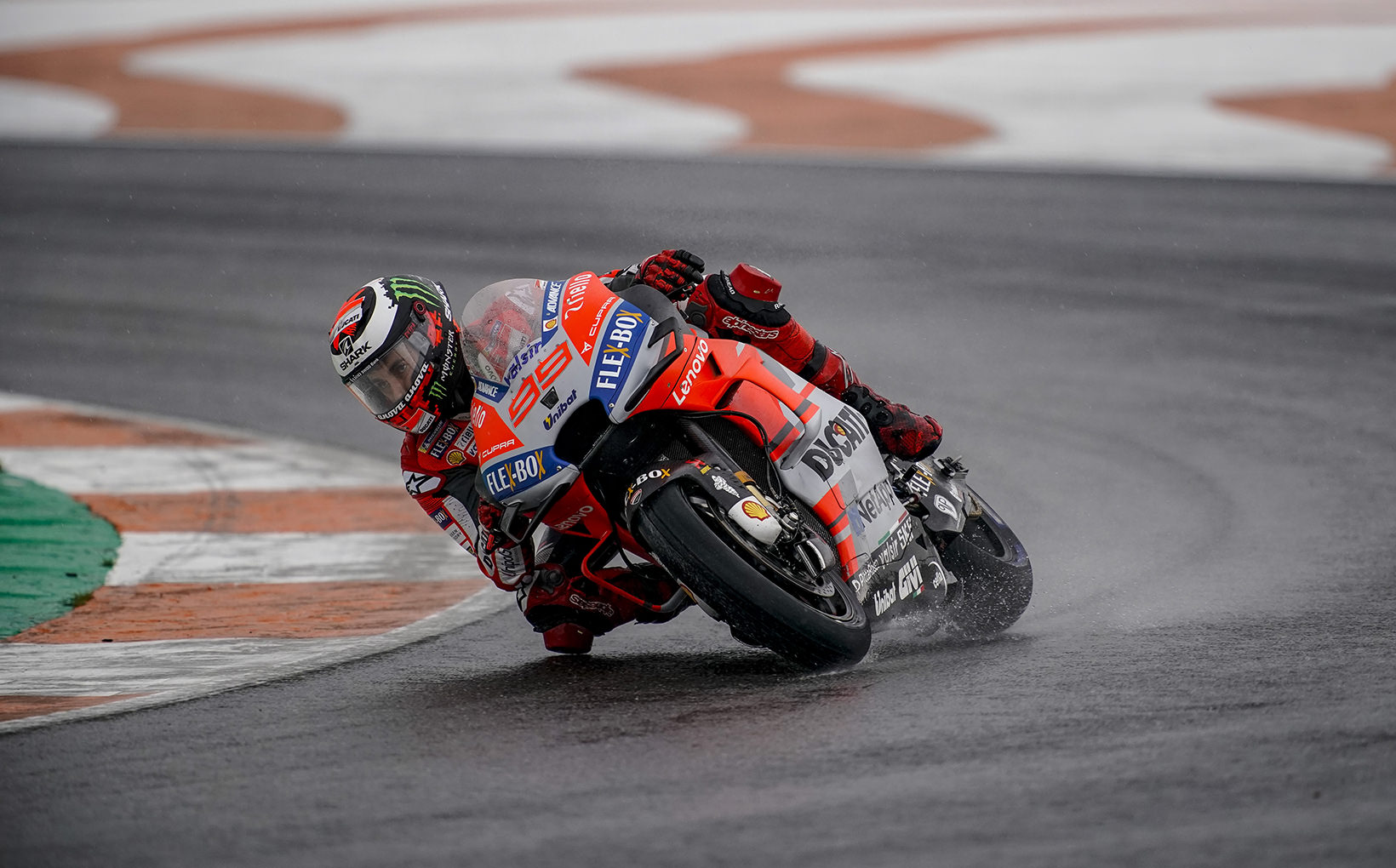 Chaotic MotoGP Race in Valencia Ends with Wet Boots, Cold Hands & Half the Field in the Gravel Trap!