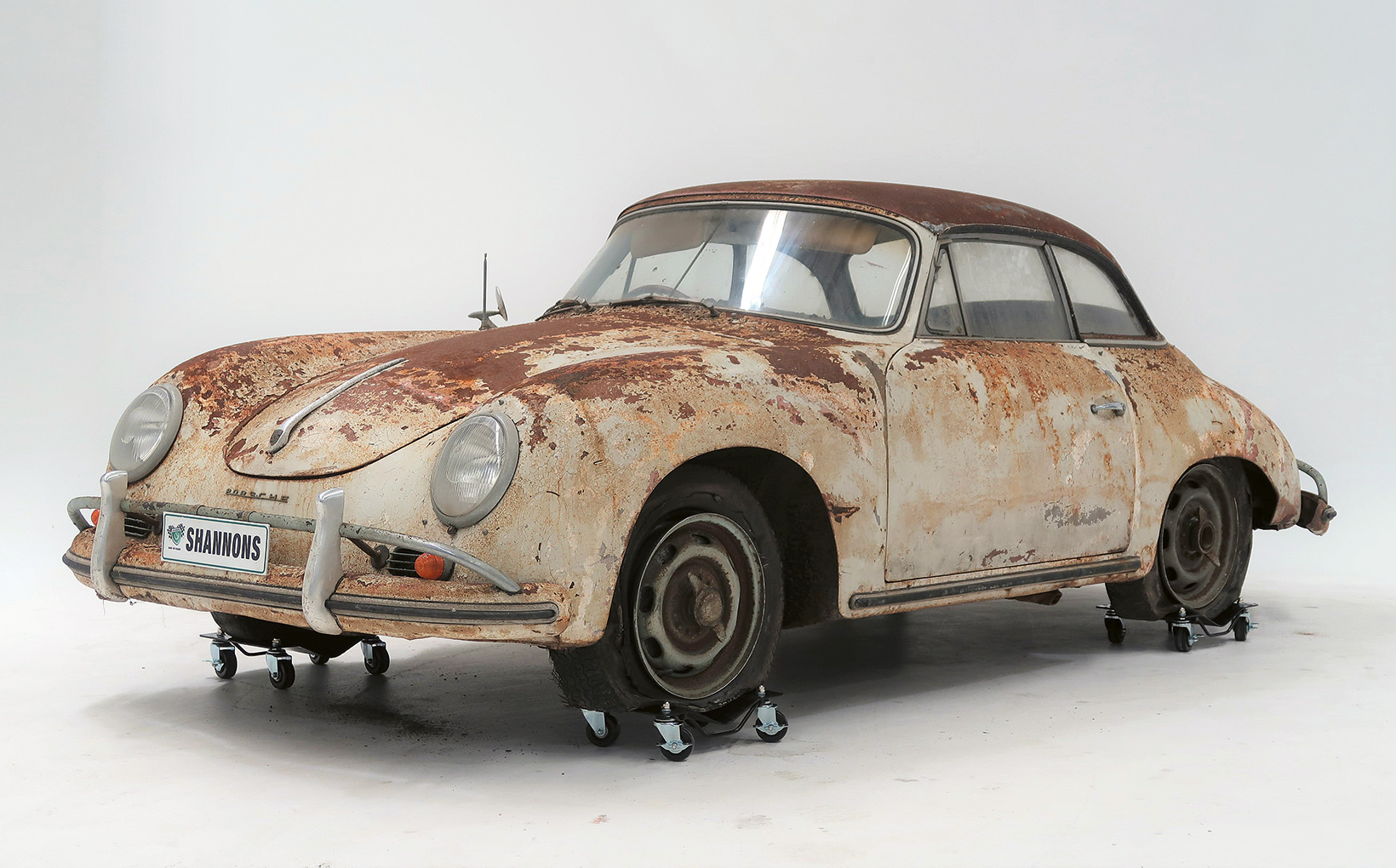 Project Porsche 356A Cabriolet to Tempt Enthusiasts