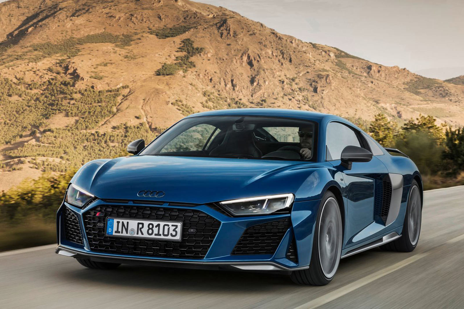Audi unleashes more powerful updated R8