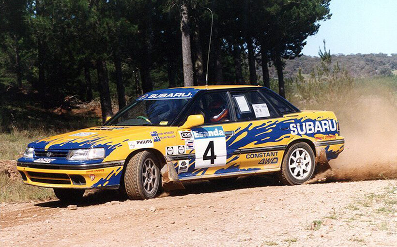 Subaru Liberty RS Turbo: a multiple champion in its own right