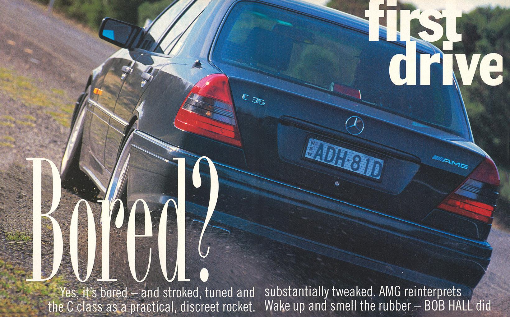 Mercedes-Benz - Bored?