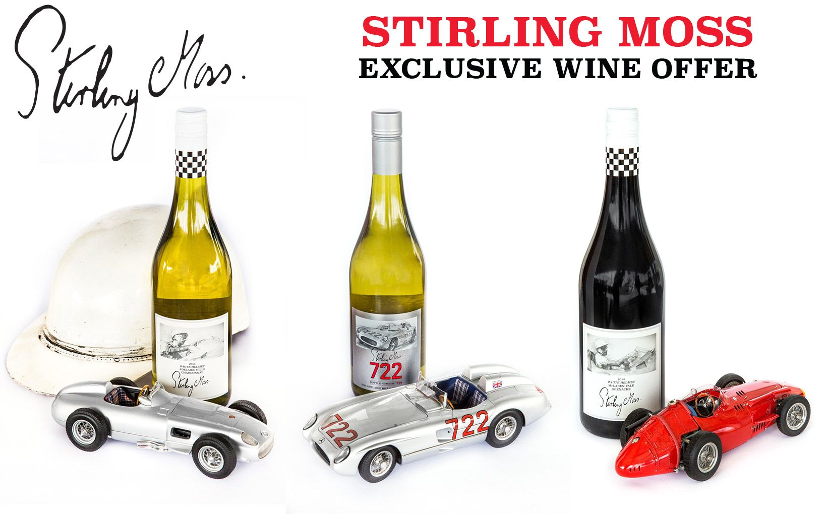 Stirling Moss Wines - Shannons Club Exclusive Offer