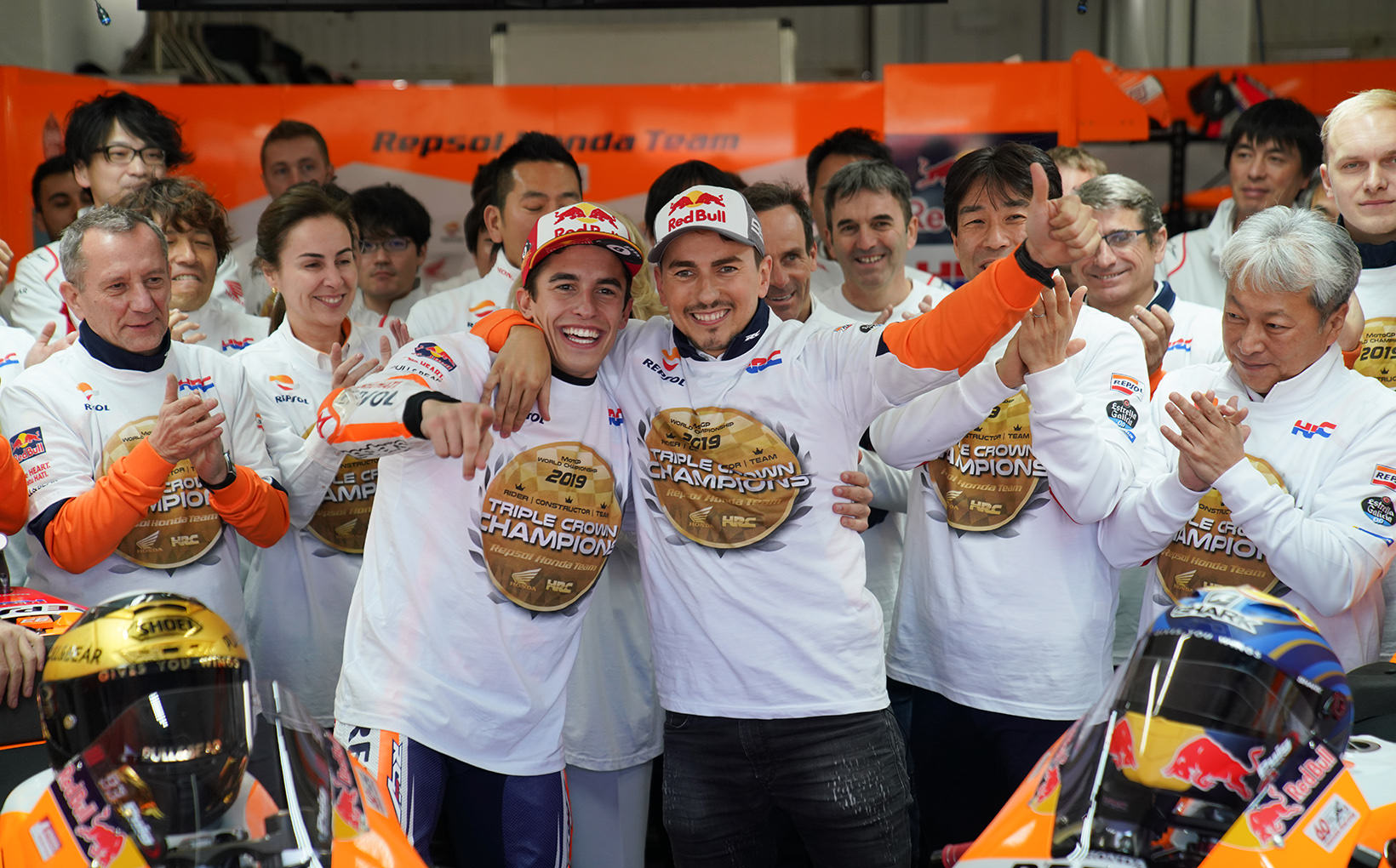 Marc Marquez wins in Valencia, Jorge Lorenzo ready for the beach & Fabio Quartararo eager to beat MM93