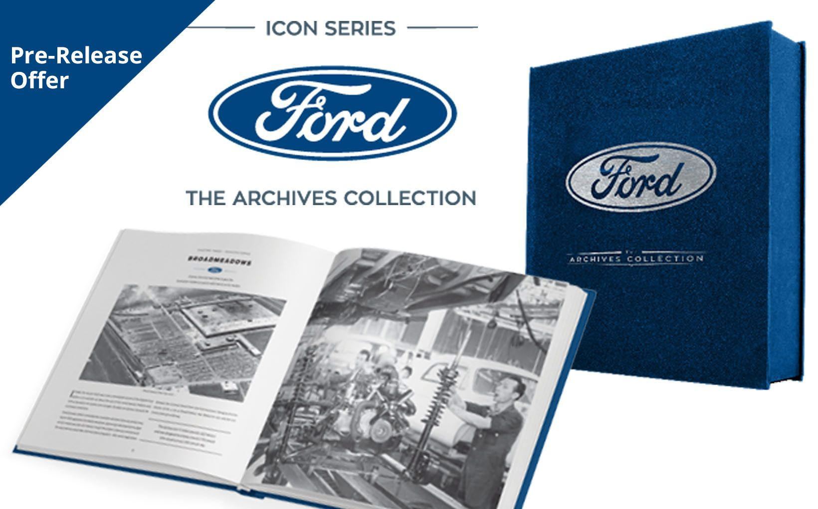 Ford - The Archives Collection: Pre-Release Shannons Club Members Offer