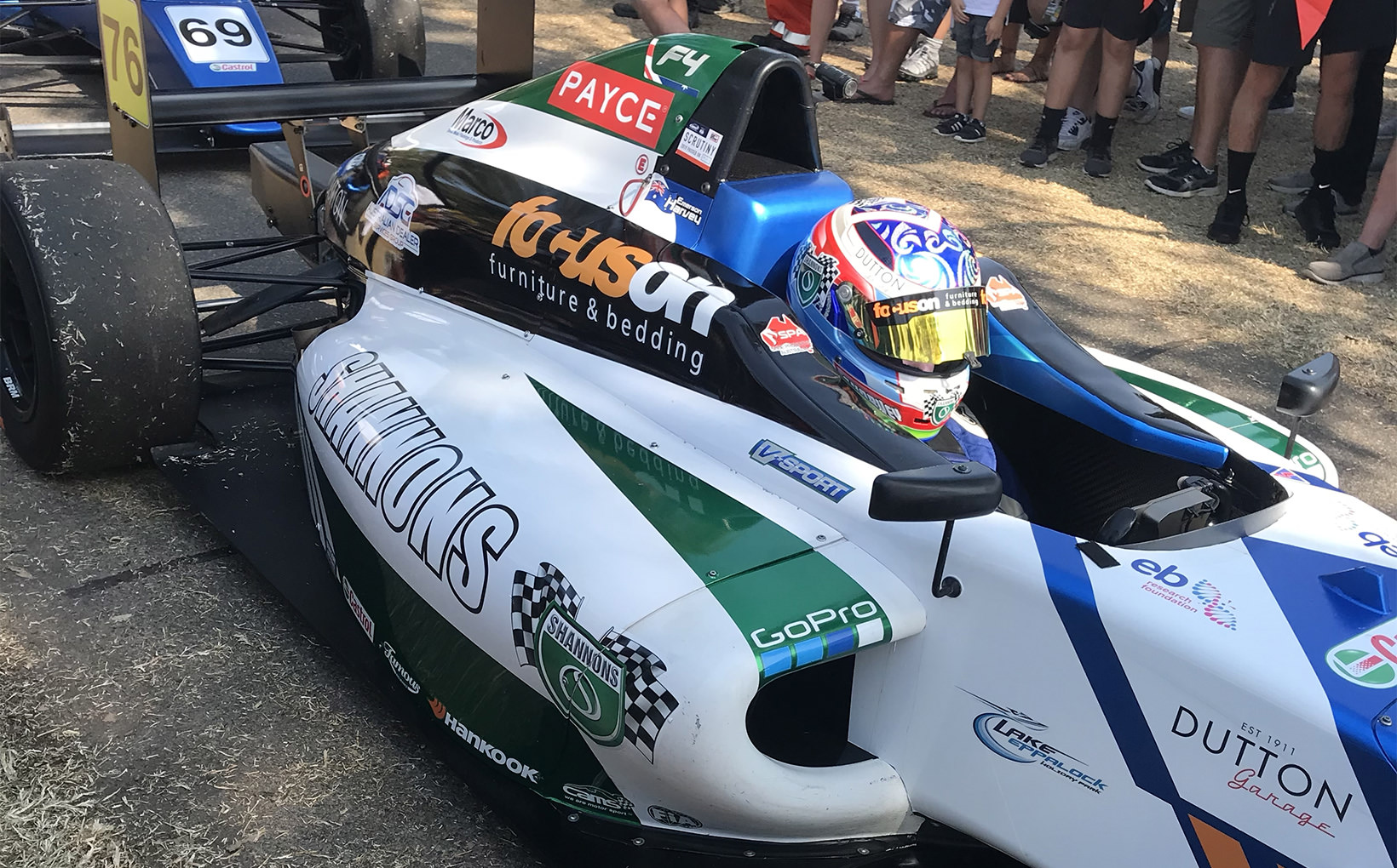 Emerson Harvey's Stunning Formula 4 Debut