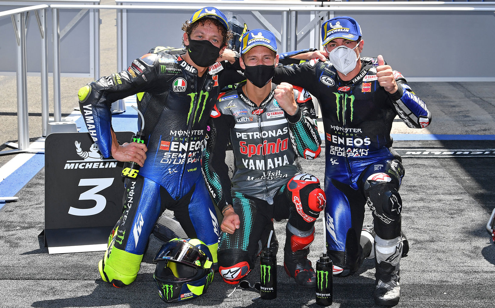 Back To Back Race Wins For Fabulous Fabio, Marc Marquez Withdraws & Valentino Rossi On The Podium!
