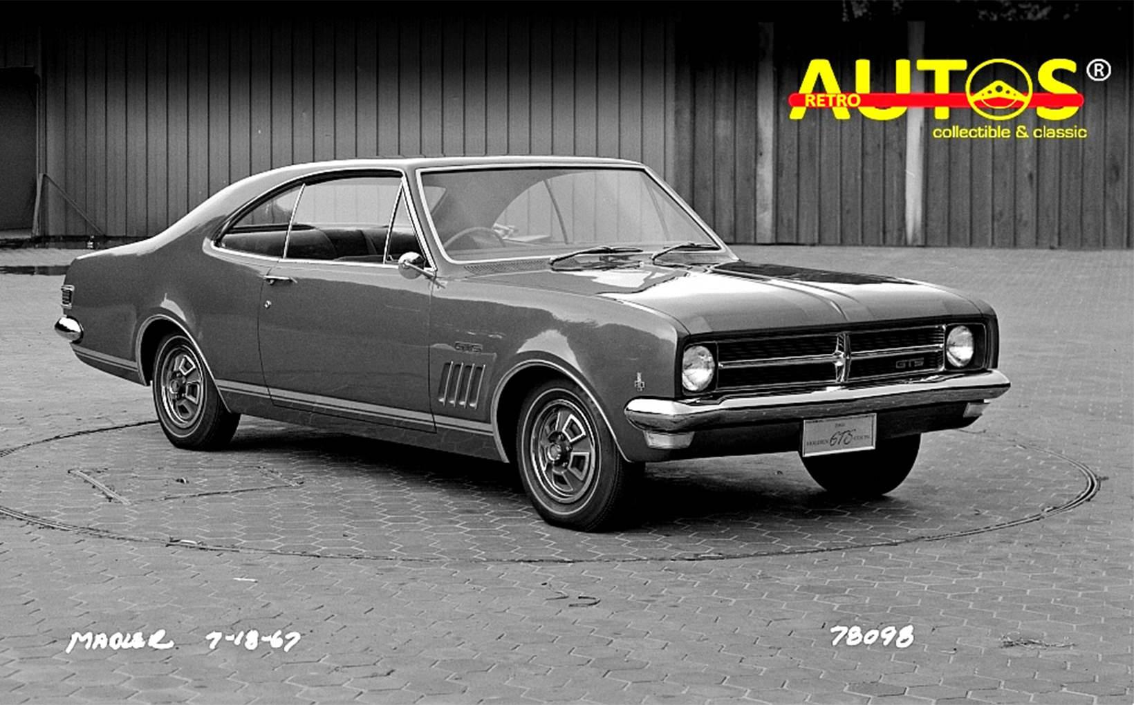 Retroautos July - Anniversaries! Monaro's 50th and Model A Ford's 90th