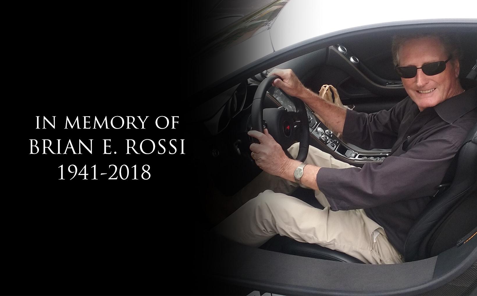 Vale Brian E. Rossi (1941 - 2018)