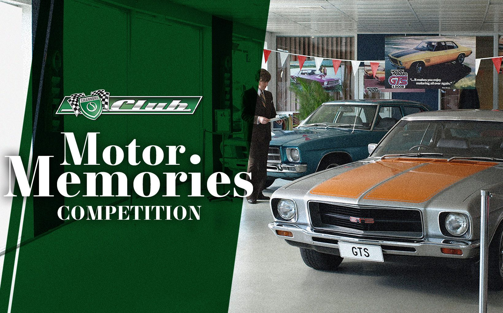Shannons Club Motor Memories Competition - Over $6,000 Worth of Prizes