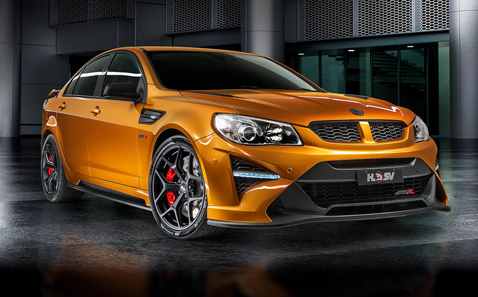 HSV farewells Aussie V8 era with 474kW GTSR W1