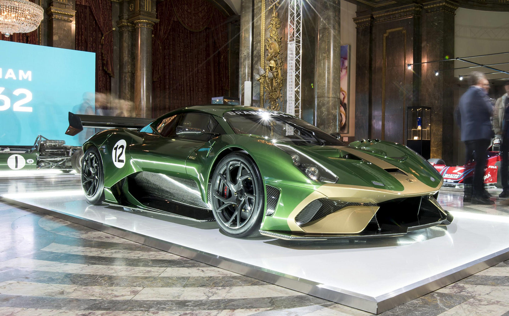 Brabham builds its BT62 Down Under