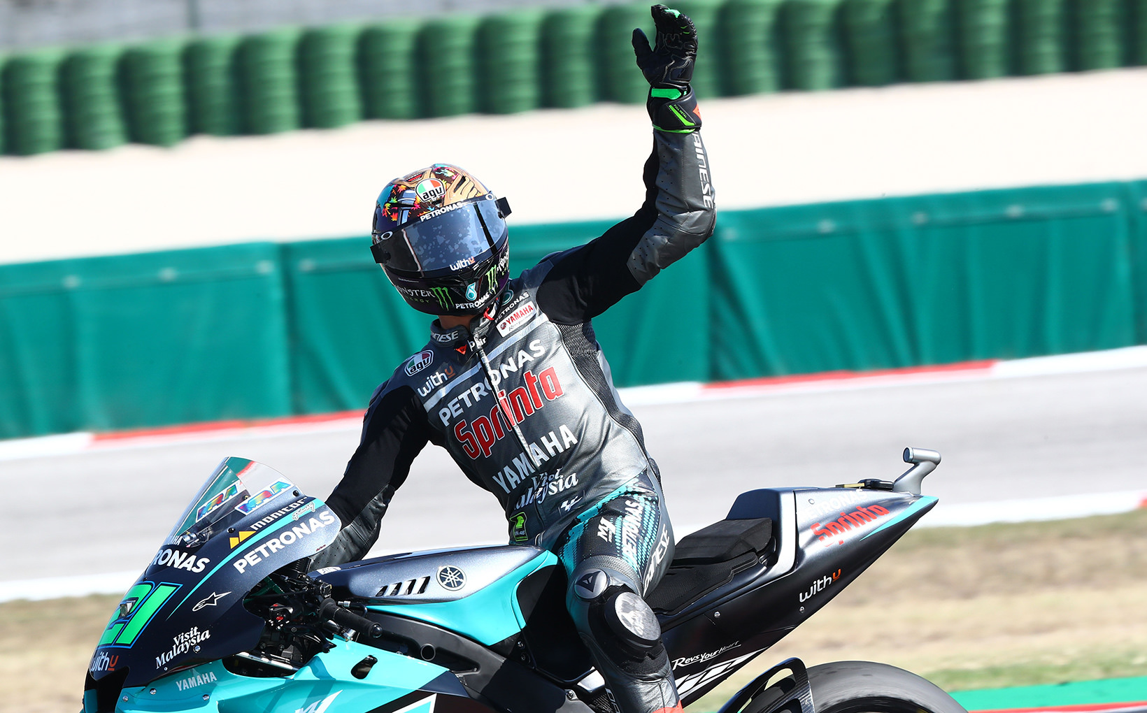 Masterful Morbidelli Wins First Ever Grand Prix in MotoGP on Home Soil
