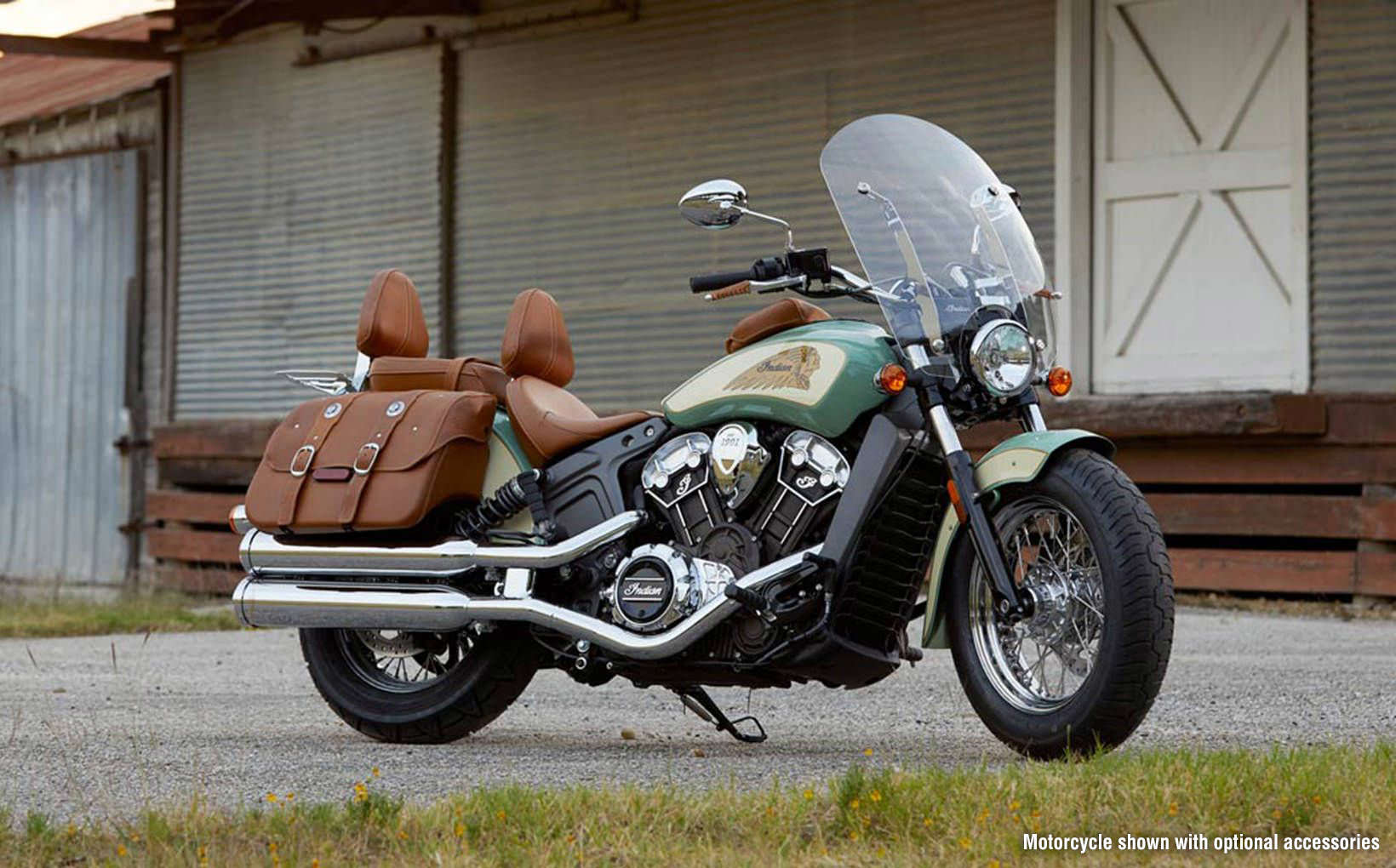 Take a close look at the 2018 Indian Scout Motorcycle