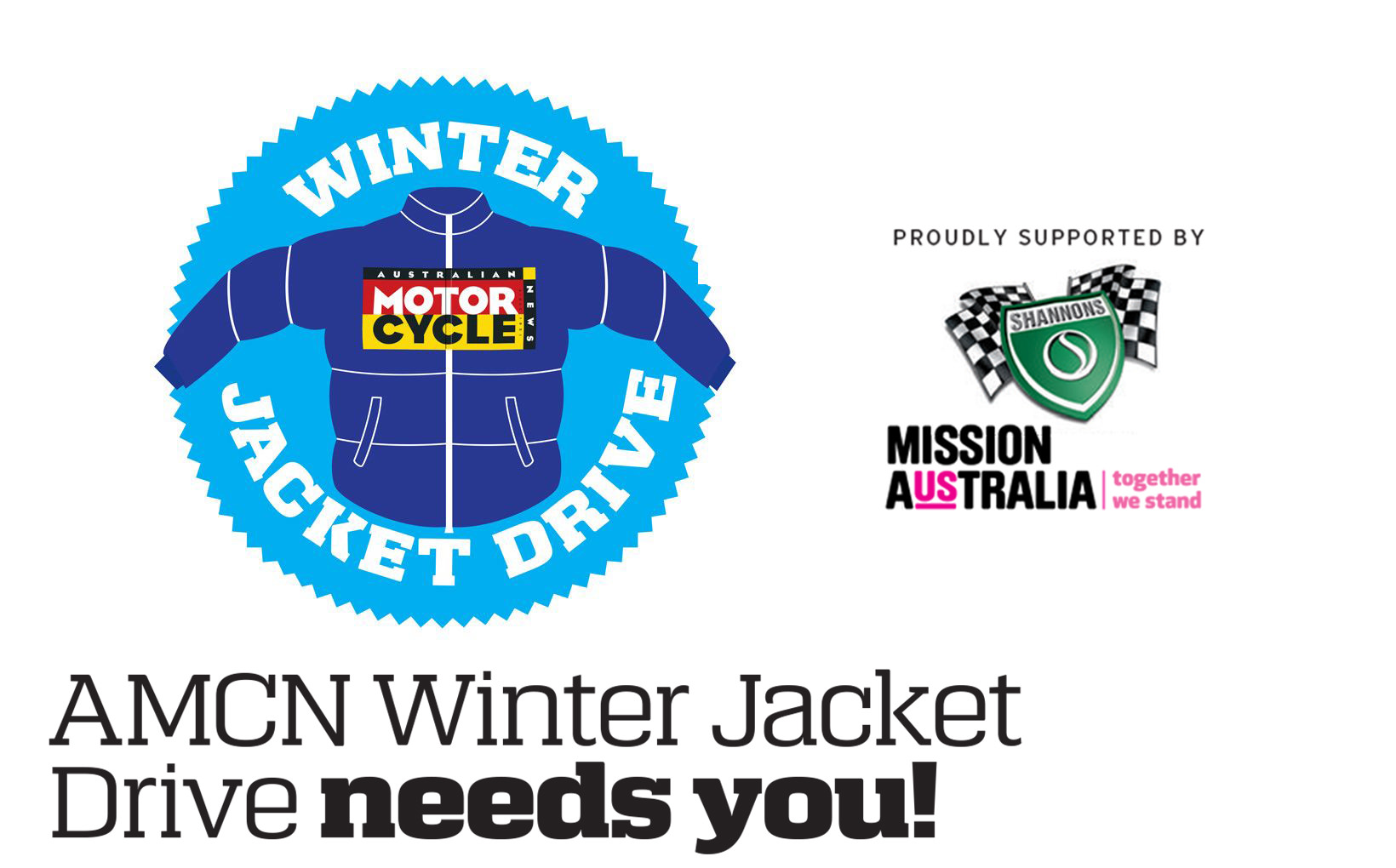 AMCN Winter Jacket Drive needs you!