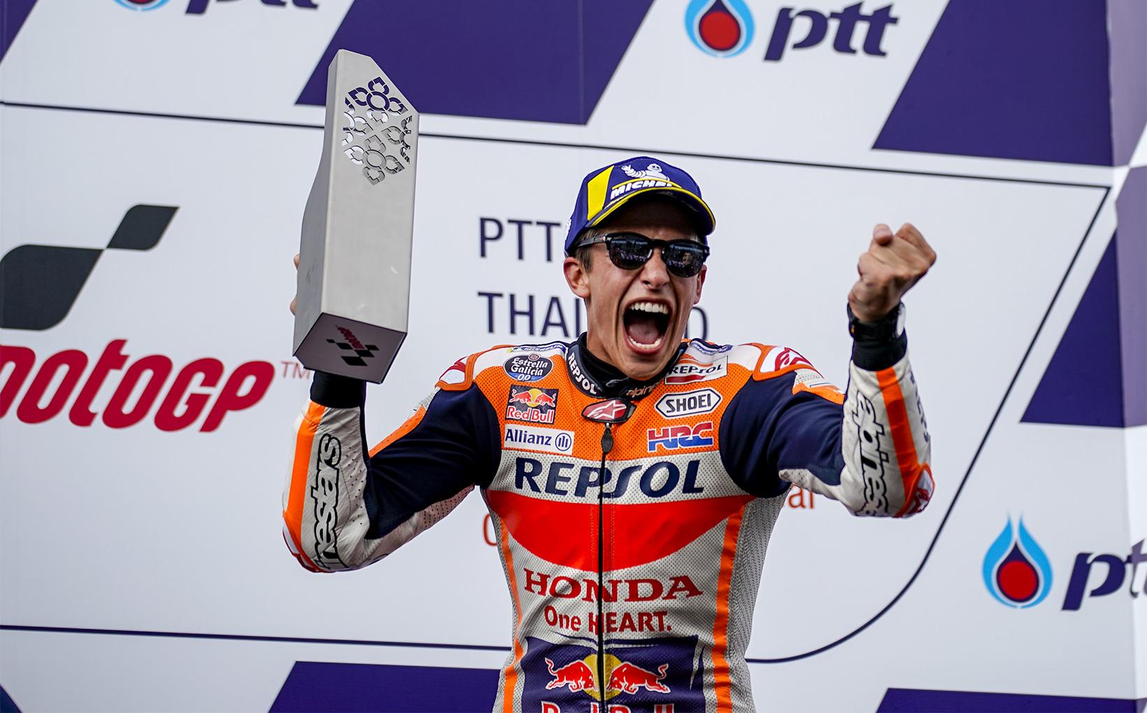 Marc Marquez Victorious over Andrea Dovizioso in Thai Showdown!