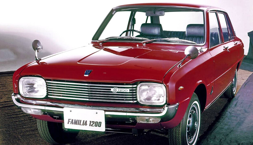 Mazda 1200 and 1300: paving the road to small car leadership