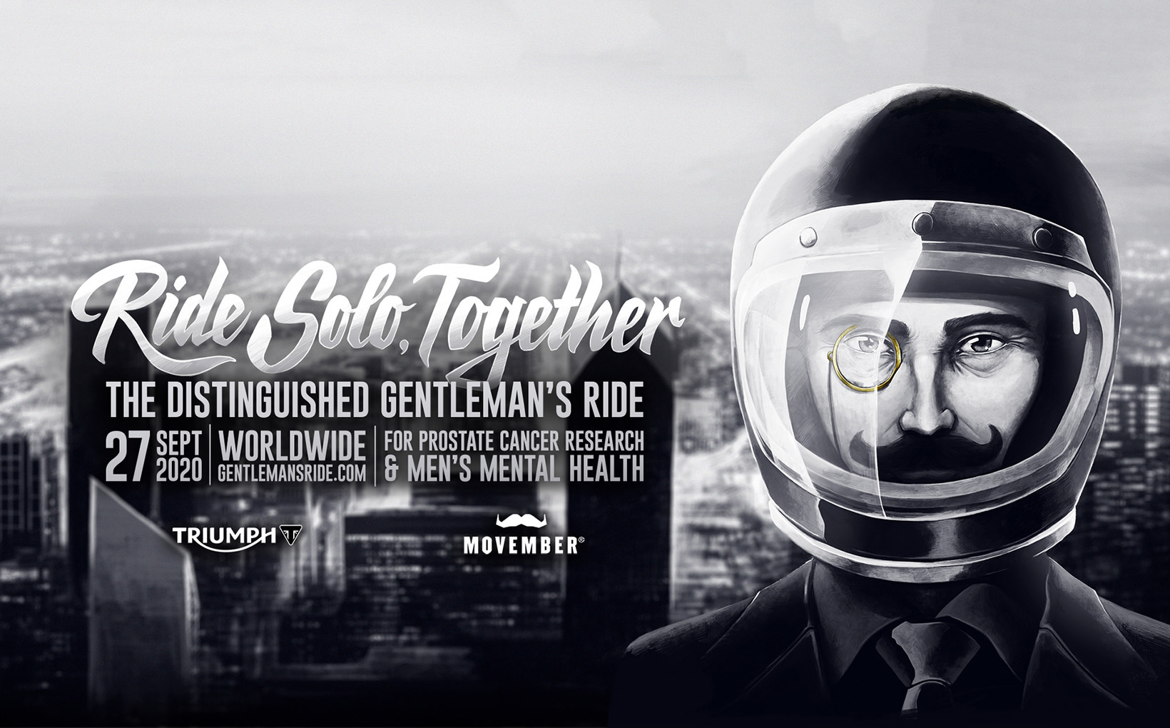 The Distinguished Gentleman's Ride Calls For Riders To Unite In 2020 Solo Edition Event