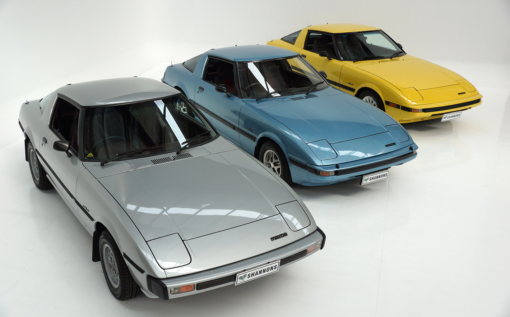 RX-7 trio for Shannons May 8 Melbourne Auction