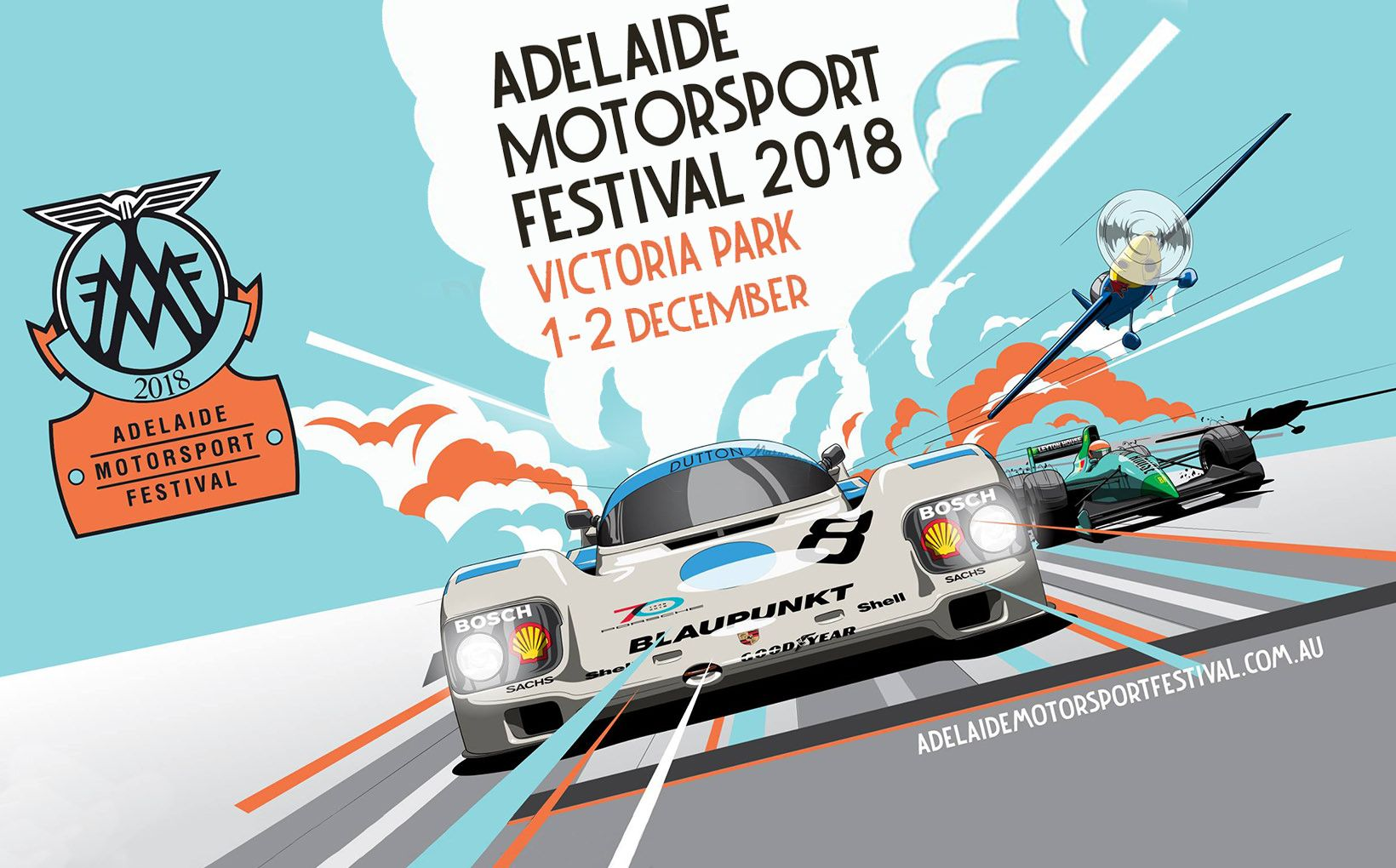 Adelaide Motorsport Festival 2018: Discount Ticket Offer
