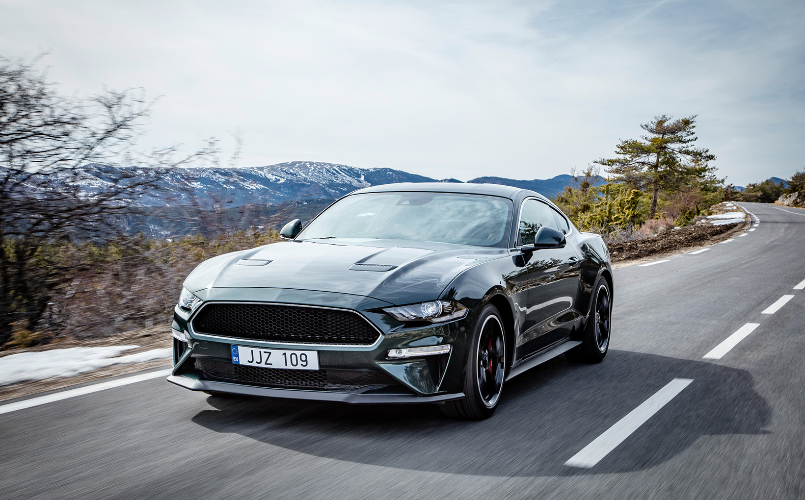 Ford mustang bullitt heads to aus shannons club