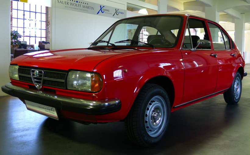 Alfasud: driver's dream, owner's nightmare