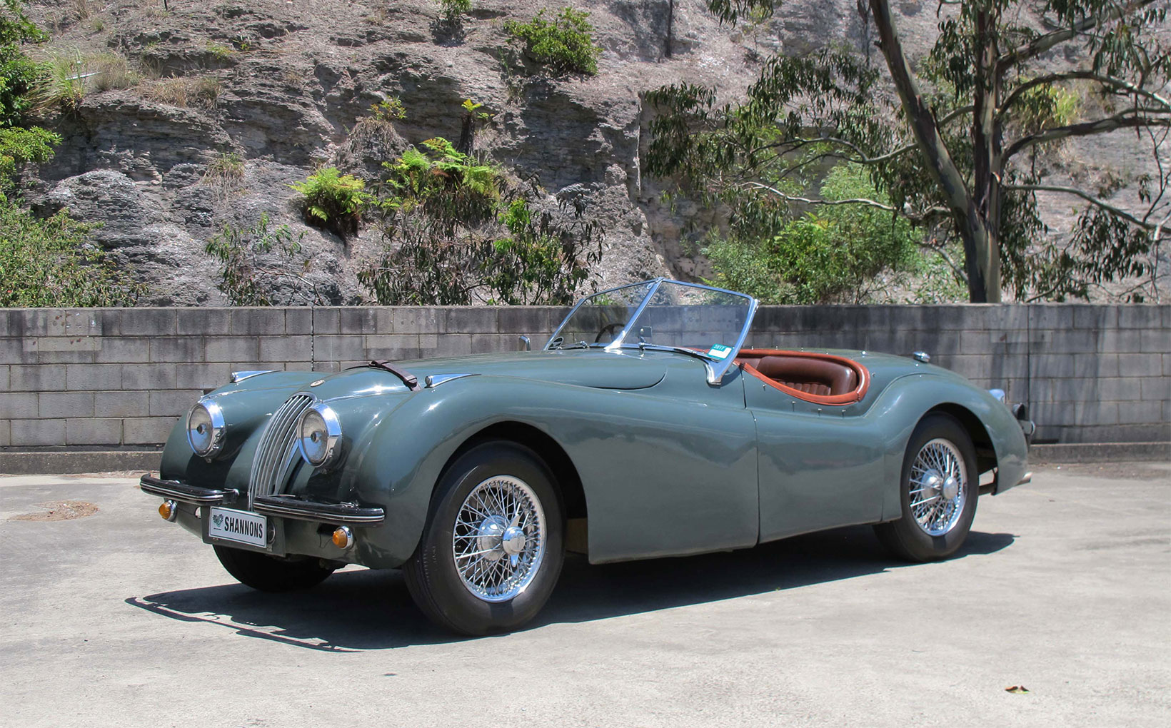 Best of British - inc. two XKs with 'no reserve' - at Shannons Sydney Auction