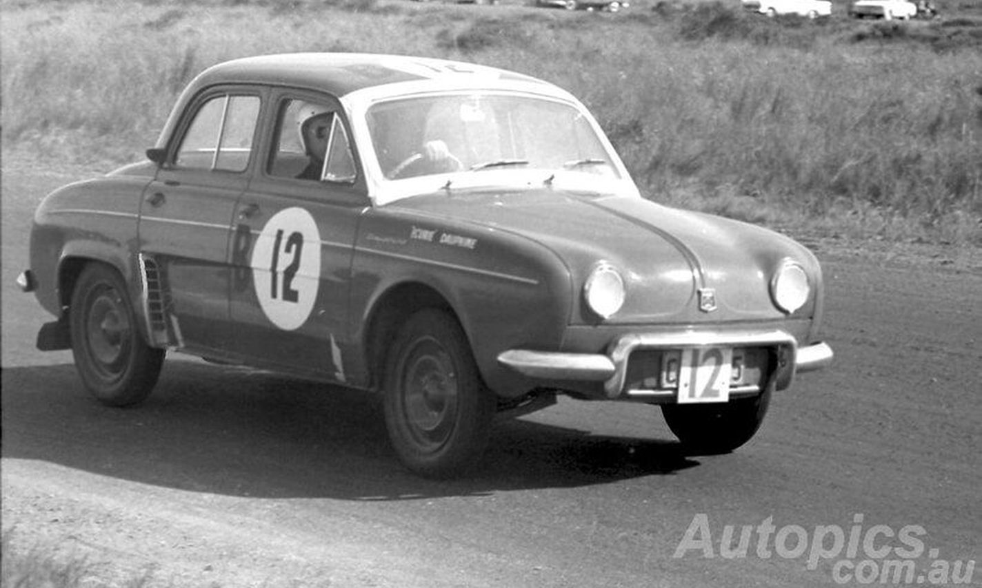 Renault Dauphine Gordini European Rally Star Armstrong 500 Champion Shannons Club