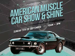 American Muscle Car Show Shine Shannons Club - Muscle car show