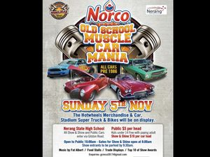 Norco Old School Muscle Car Mania Qld Shannons Club
