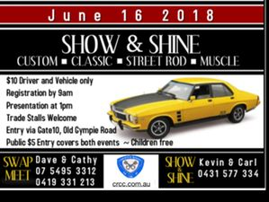 Caboolture Regional Car Club Show & Shine