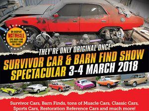 Survivor Car Barn Find Show Spectacular