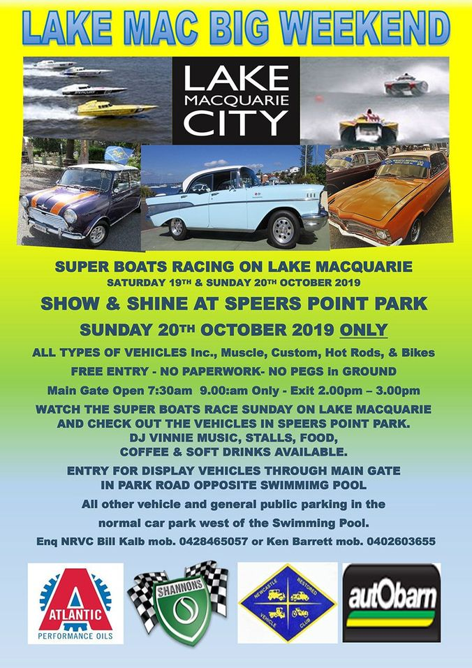 LAKE MAC BIG WEEKEND - Show & Shine