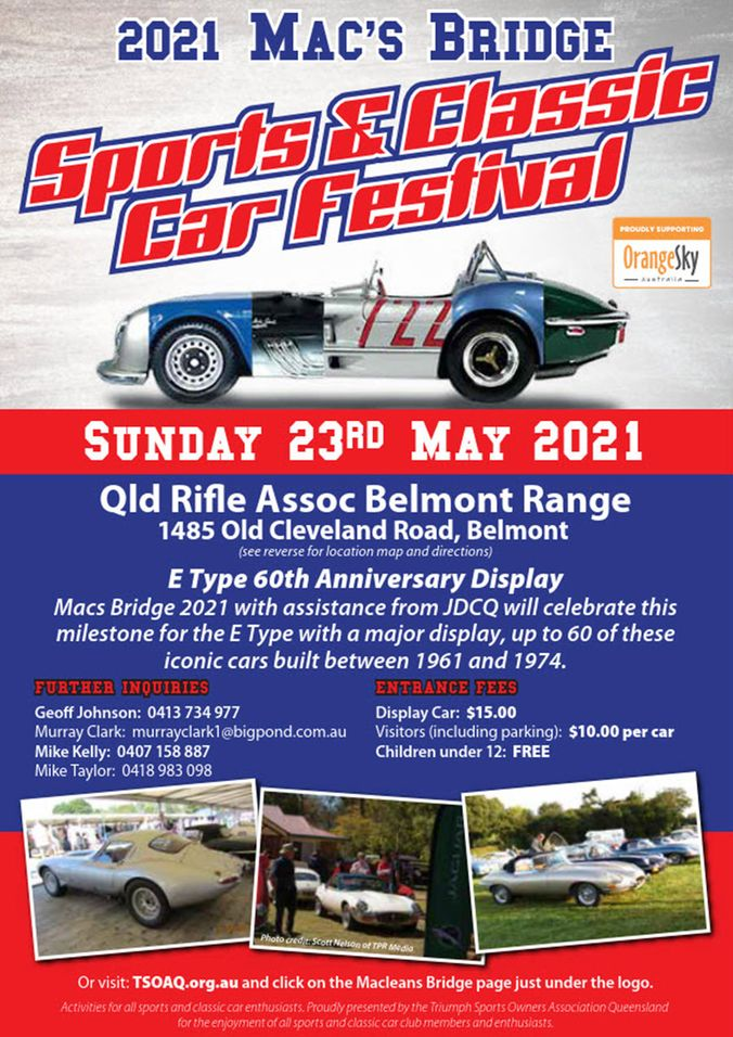 Mac's Bridge - Sports & Classic Car Festival - Qld