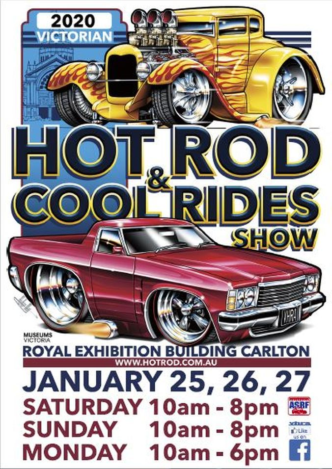 2020 VIC  HOT ROD & COOL RIDES SHOW