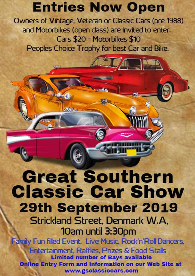 Great Southern Classic Car Show 2019