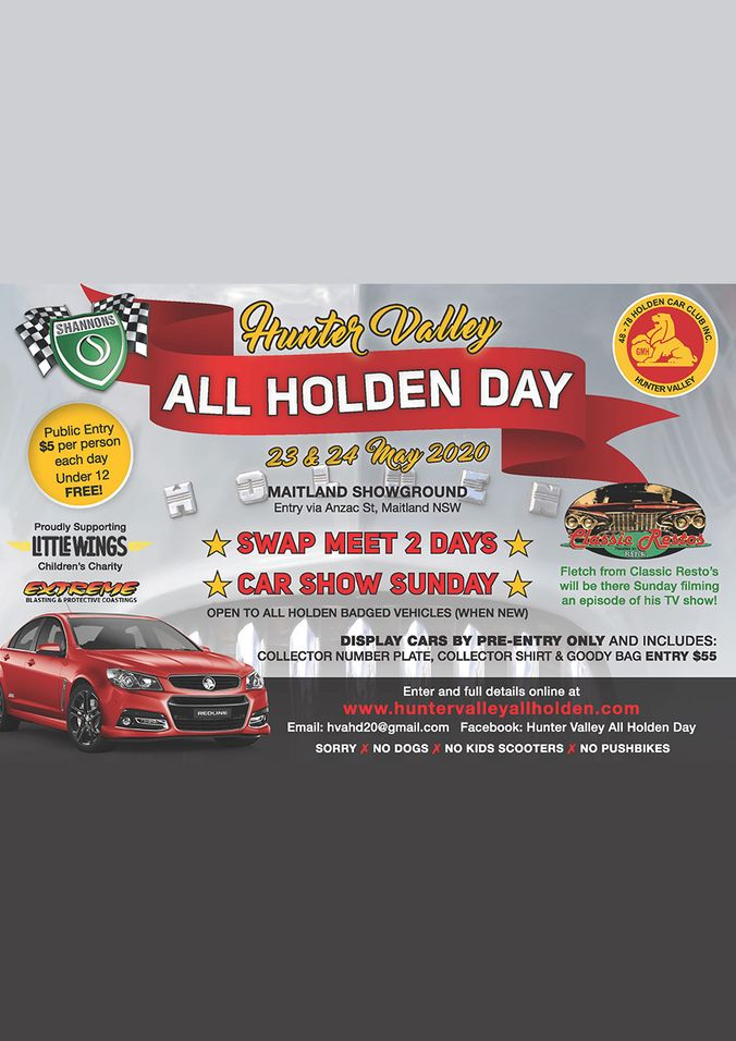 Hunter Valley All Holden Day