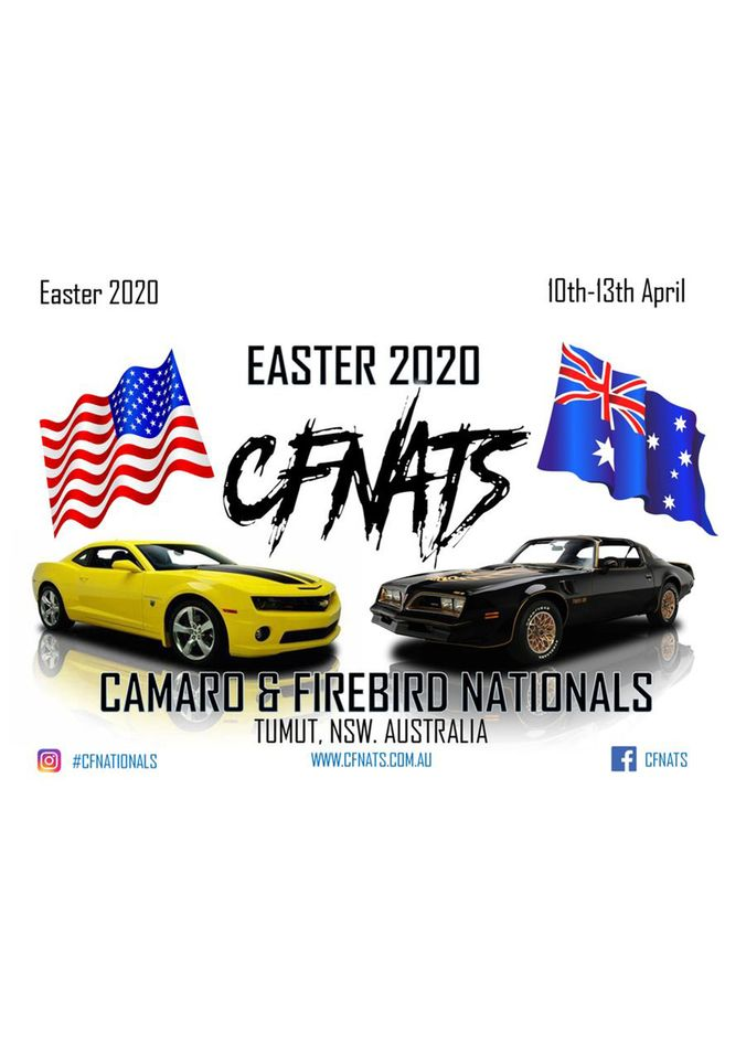 **POSTPONED** Camaro and Firebird Nationals 2020