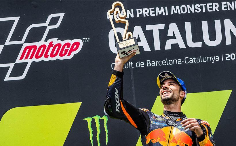 Masterful Miguel Oliveira wins in Catalunya, Johann Zarco second & Jack Miller third!