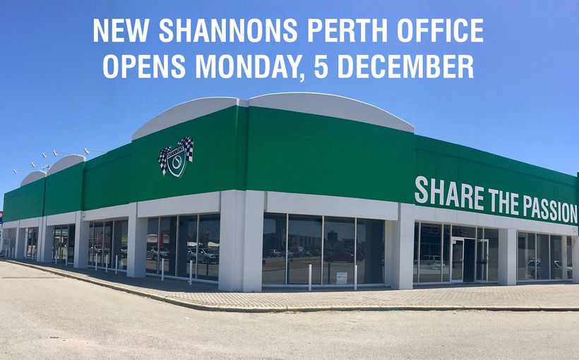 New Shannons Office in Perth