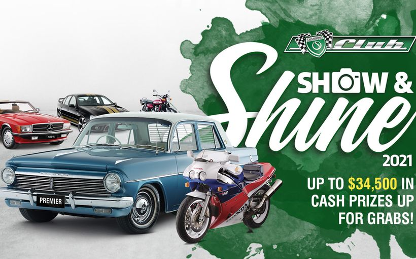 2021 Shannons Club Online Show & Shine Competition