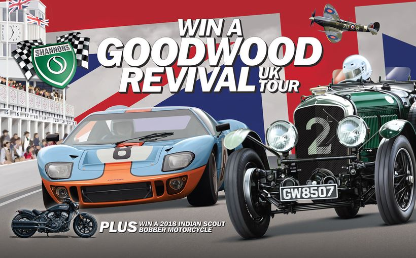 Win a Trip to the Goodwood Revival in the UK
