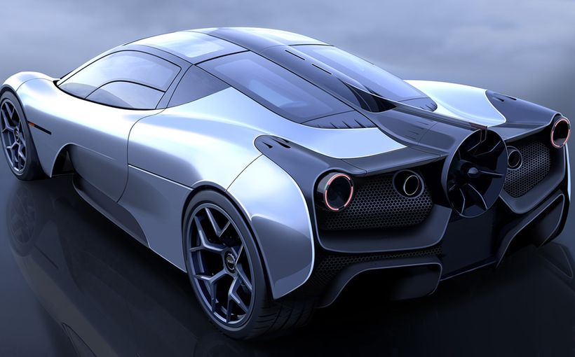 GMA T50 Supercar swoops in as spiritual successor to legendary McLaren F1